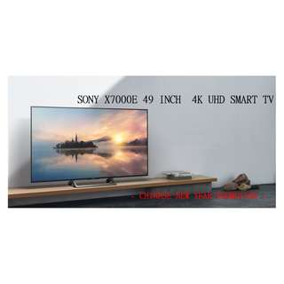 SONY KD-49X7000E 49 INCH 4K INTERNET TV