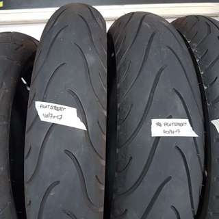 Michelin Pilot Street 110/70-17 and 140/70-17