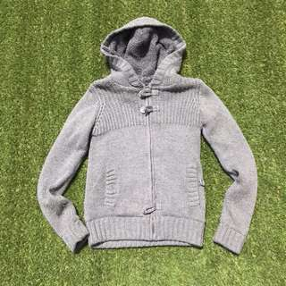 PULL&BEAR knit winter jacket