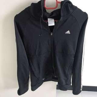 Preloved Female Adidas Classic Jacket in Black