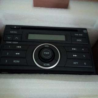Nissan grand livina radio set (Ori set)