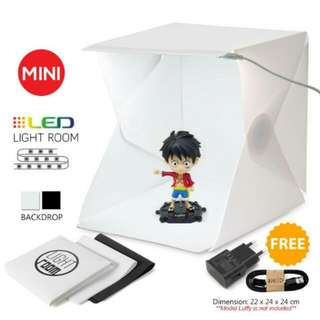 FREE POS Ready Stock Mini Fordable Photography Studio Tent  Portable LED Light Box