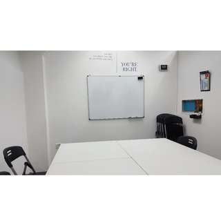 Classroom for rent / project meeting room