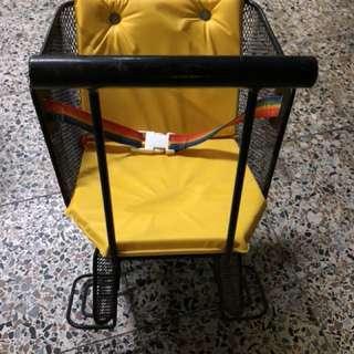 腳踏車前座、兒童座椅