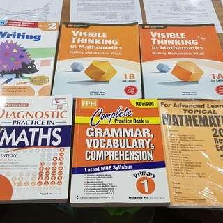 P1 Assessment Books