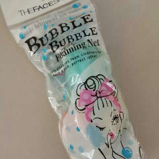 🆕Brand New Faceshop Bubble Foaming Net
