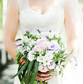 Mariana Hardwick Lilac Wedding Gown