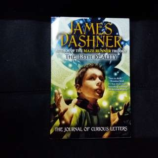 The 13th Reality | The Journal Of Curious Letters by James Dashner