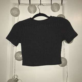 XXI • ribbed crop top