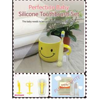 korea Perfection children baby oral tooth care tooth brush teething kids infant