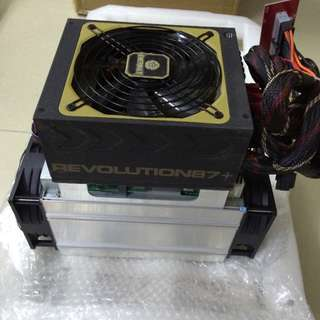 Antminer S7 with PSU On Stock