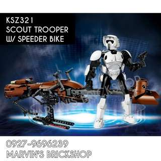 For Sale Latest Star Wars Scout Trooper with Speeder Bike