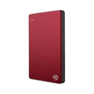 Seagate Backup Plus Slim External Hard Drive STDR2000 2TB Red