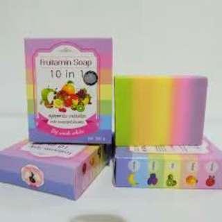 Sabun fruity extracts 10 in 1