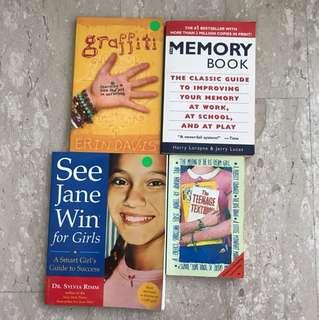 Teenage Self-help books