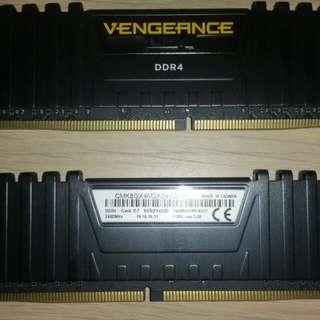 8GB (2 * 4GB) Corsair Vengeance LPX DDR4 2400Mhz GAMING RAM