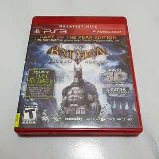 [PS3] Batman: Arkham Asylum [3D compatible/Glasses included]