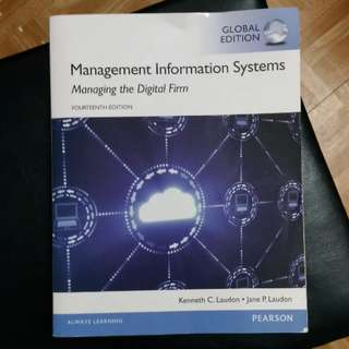 management information systems( fourteen edition) 資訊管理系統