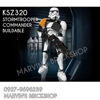 For Sale Latest Star Wars Stormtrooper Commander Buildable Figure