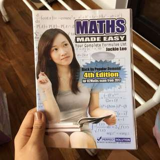 Math Cheat book