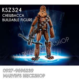 For Sale Latest Star Wars Chewbacca Buildable Figure