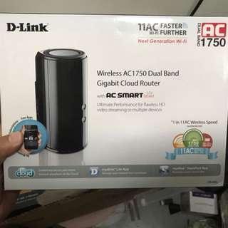 Dlink wireless AC1750 dual band gigabit router