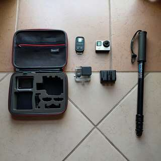 GoPro Hero 4 Silver (with remote, other accessories!)