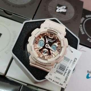 Mini G-Shock Pink Rose Gold)