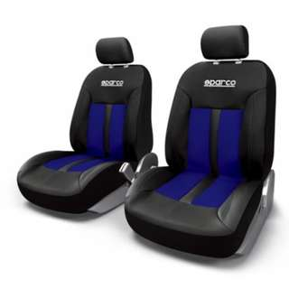 Sparco Seat Cover SPC1018AZ (Blue/Black)