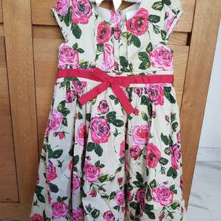 Party dress NEXT brand  (3 to 4 yrs old)