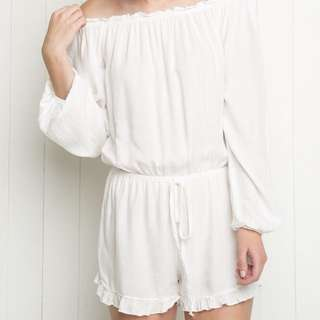 brandy melville • off shoulder romper