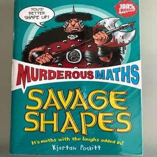 Murderous Maths Savage Shapes NEW