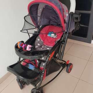 Pliko baby stroller