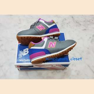 New! Authentic New Balance girl kids shoes