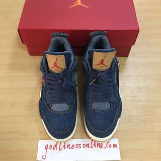Levi's x air jordan 4 best version in this market