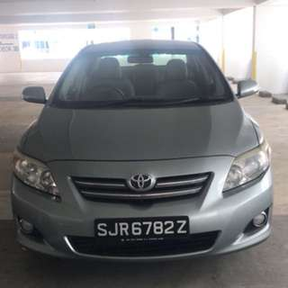 Altis Car Sale Or Rental As Low As $50/Day!!