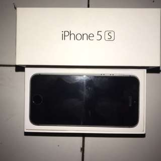 IPHONE 5s 64GB BLACK SECOND