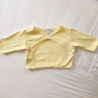 Ralph Lauren Baby Light Yellow Top
