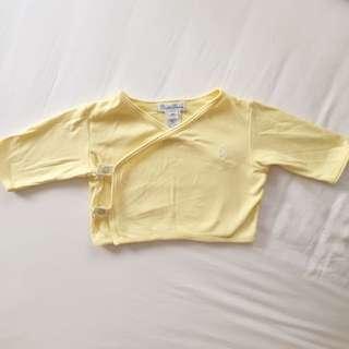 Ralph Lauren Baby Light Yellow Top