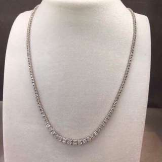 6 Carats Diamond Necklace