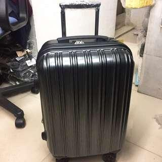 Polo club 黑色行李箱20吋