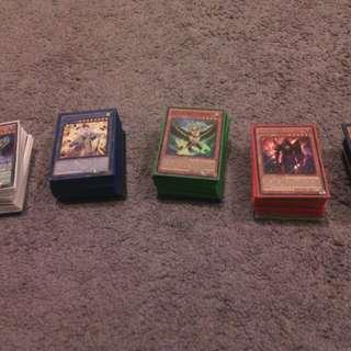 5x Yu-Gi-Oh Decks and Extras