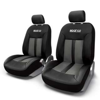 Sparco Seat Cover SPC1018GR (Gray/Black)