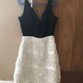Flower Skirt Dress (satin)