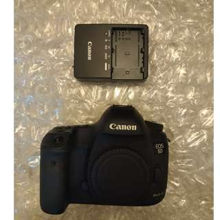 Canon 5D3 (水) 底部貼紙無序號 no body number