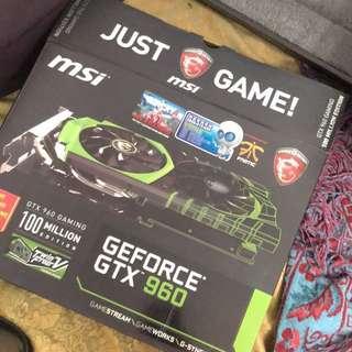 Msi GTX960 gaming 2g ddr5