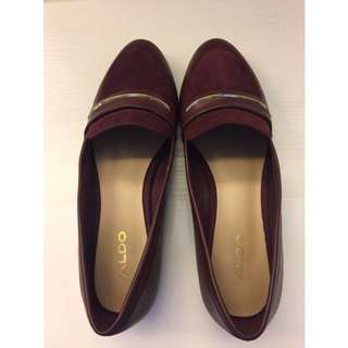 Aldo - Maroon Flat Shoes
