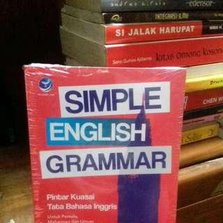 PA Simple English Grammar, Pintar Kuasai Tata Bahasa Inggris Untuk Pemula, Mahasiswa Dan Umum