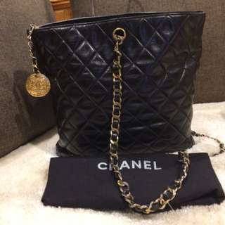 Authentic Chanel Medallion series 13 with card and dustbag