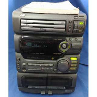 JVC Compact Component System 微型組合 小型組和系統 CA-D701T( Only Body) (淨主機) (CD No function) (